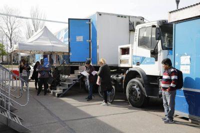 Desde hace un año, cuatro containers reemplazan a un centro de salud