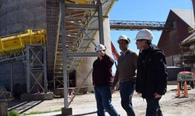 """Rojas: """"Tenemos un puerto que está constantemente generando obras"""""""