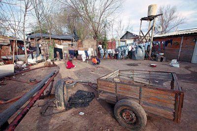 La pobreza llegó al 39,8% en el conurbano bonaerense y al 35,4% en el país