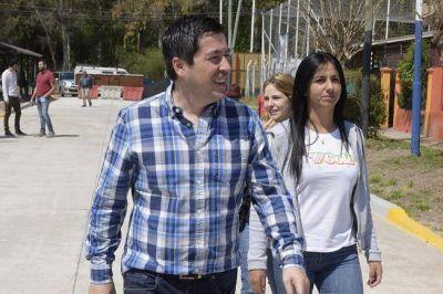 Nardini inauguró nuevos asfaltos