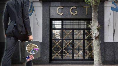 Inquietas por plan de Alberto F. y el marco laboral, empresas de EE.UU. sondearon a la CGT