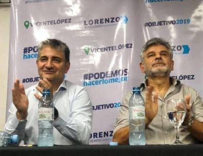Lorenzo Becarria junto a Filmus :