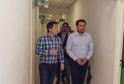 Nardini recibió a candidato a intendente de San Isidro del Frente de Todos