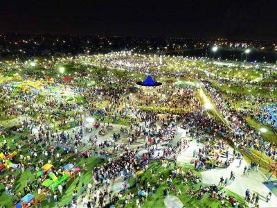 El Intendente Gustavo Menéndez inauguró dos importantes obras: el Parque de la Unidad Nacional y la urbanización del Barrio Obrero de Libertad