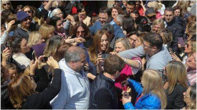 Vidal hace campaña: almorzó con intendentes y legisladores con una arenga