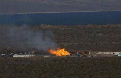 Comenzó la etapa final de los trabajos para cerrar la fuga de gas en Vaca Muerta