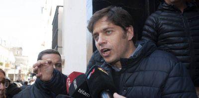 """Axel Kicillof advierte que la deuda en la Provincia también debería ser """"reperfilada"""""""