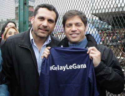Axel Kicillof estuvo en Boulogne respaldando la candidatura de Federico Gelay