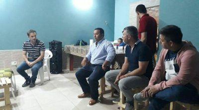 El Intendente se reunió con vecinos del barrio El Portal