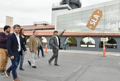 """Bonifatti: """"Queremos replicar la gestión de turismo salteño en Mar del Plata"""""""
