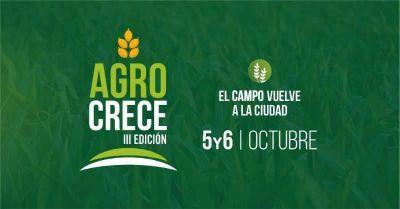 Paella gigante y asadores criollos, la propuesta gastronómica de AgroCrece
