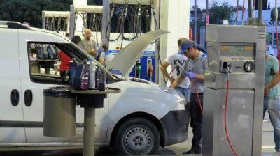 Se frena la conversión de vehículos a GNC