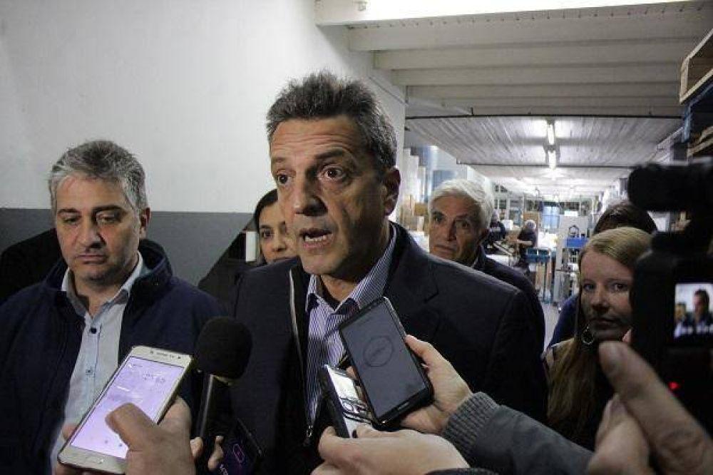 """Massa: """"Pensar en fraude es una falta de respeto a los miles de argentinos que fueron autoridades de mesa"""""""