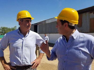 Boto visitó la planta de tratamiento de Areco