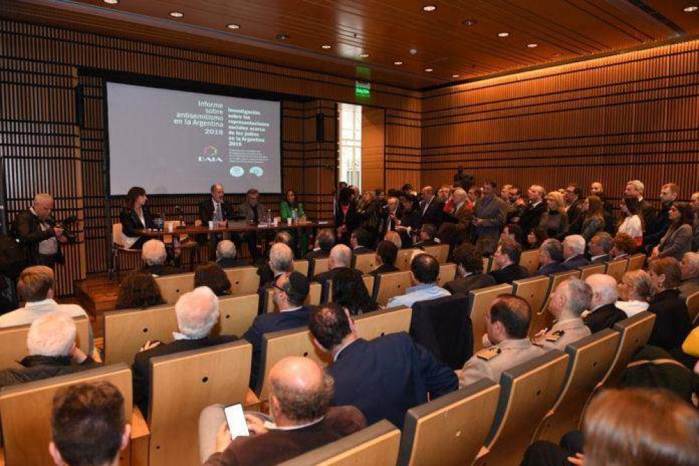 La DAIA presentó el informe anual del antisemitismo: aumentó un 107% con respecto al período anterior