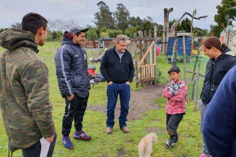 """Para Pulti es """"urgente"""" que el municipio retorne a los barrios"""