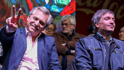 """Máximo pidió convencer para votar al FdT y """"formar una mayoría más amplia"""""""