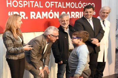 Julio Zamora inauguró la ampliación del Hospital Municipal Oftalmologico