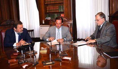 Nuevo convenio entre el Municipio y la Corte por el Polo Judicial de Escobar