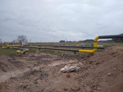 """Gasoducto: advierten que """"se paralizó"""" la obra en su etapa final por falta de pagos del Gobierno nacional"""