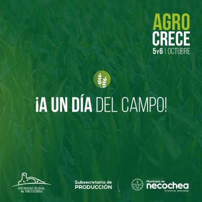 Con una variada propuesta, hoy abrirá sus puertas AgroCrece