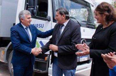 El Talar recibió un camión en el marco de GIRSU