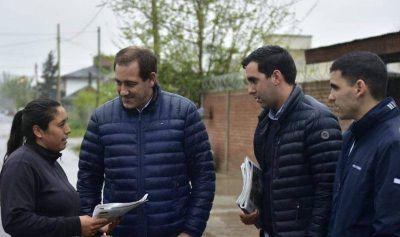 En Villa Castells Garro destacó el funcionamiento de las obras hídricas tras las lluvias de los últimos días