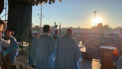 """El mensaje de la Iglesia en el cierre de la peregrinación a Luján: """"Construyamos una Patria de hermanos"""""""