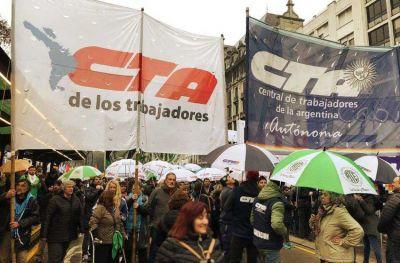 """Para la CTA Autónoma local, la unión con la CGT """"va a ser un proceso muy difícil"""""""
