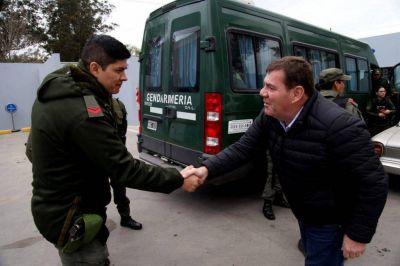 """Montenegro: """"Los vecinos se sienten más seguros gracias a Gendarmería"""""""