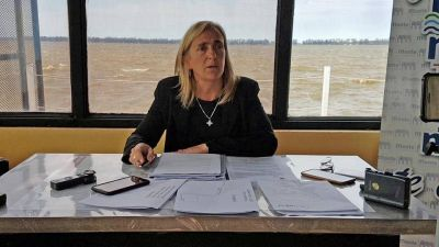 La intendenta Mayol solicitó que se declare reserva natural a la laguna de Monte y las perdices