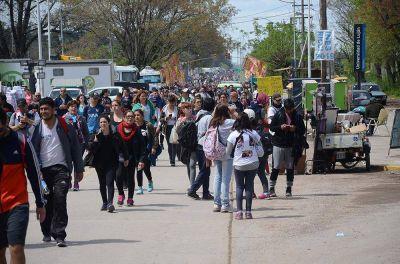 Peregrinación Juvenil: miles de fieles llegaron a la ciudad