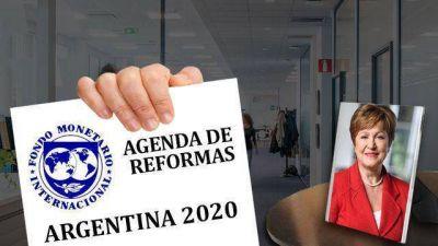 El FMI endurece su postura con Argentina: no habrá más plata si antes no se compromete una agenda de reformas
