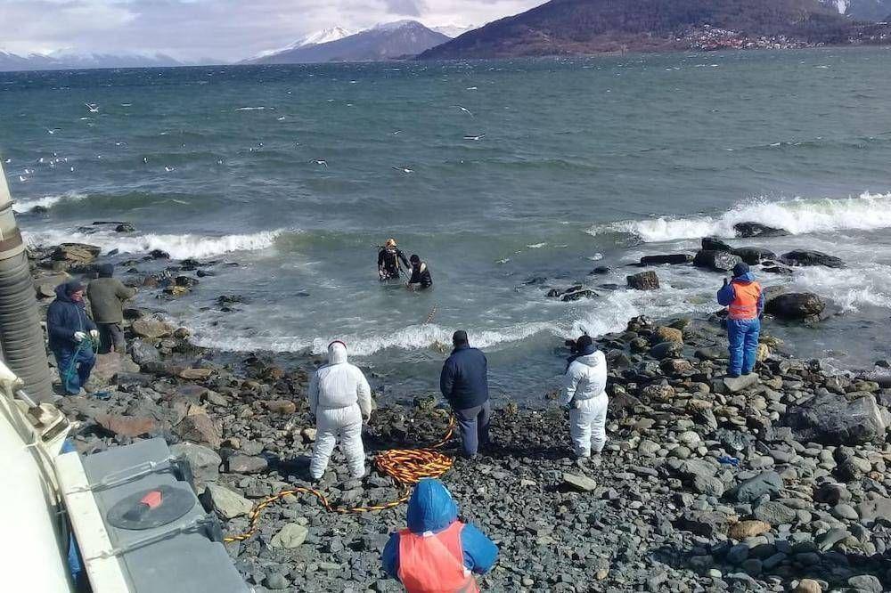 """""""Esta obra viene a solucionar un problema de contaminación que afectó por años a Ushuaia"""", destacó Worman"""