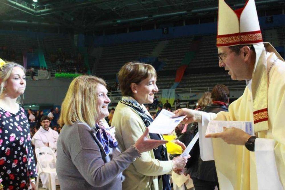 """""""Un obispo fresco y cercano"""". El segundo año de Gabriel Mestre"""