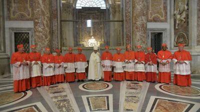 Papa Francisco crea trece nuevos Cardenales