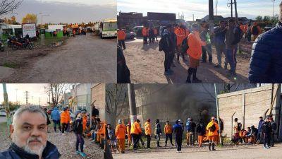 Comenzó el paro en higiene urbana municipal en Berazategui