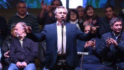 Alberto Fernández visitará el PJ por primera vez como candidato, pero no piensa presidir el partido