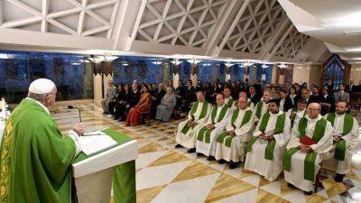 El Papa: Atención a no elegir la ideología por encima de la fe