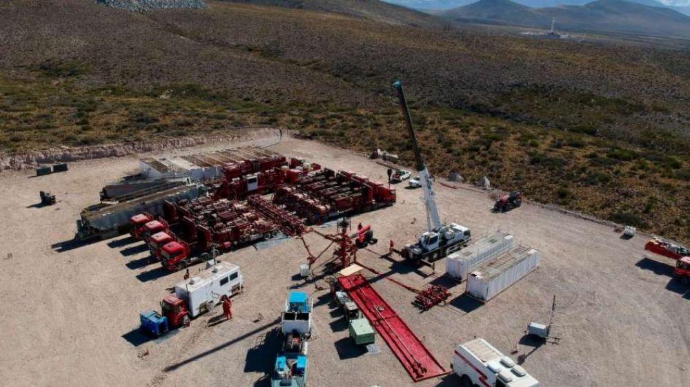 YPF quiere autorización para hacer fracking en el sector mendocino de Vaca Muerta