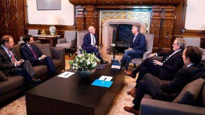 El Presidente Macri recibió a directivos de la empresa de energía italiana ENEL