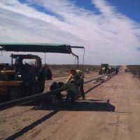 El gasoducto de la Región Sur está en plena ejecución en sus cuatro tramos