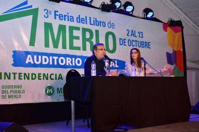 Gabriel Rolón visitó la Feria del Libro