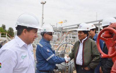 Bolivia: la planta de gas La Vertiente aumenta su producción