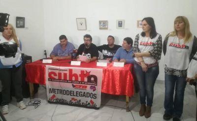 AGTSyP exige a Sbase y Metrovías que descontaminen de asbesto las formaciones