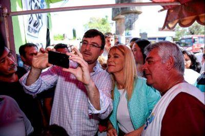 Magario fue a Morón a acompañar al candidato local: críticas a Macri, Vidal y Tagliaferro