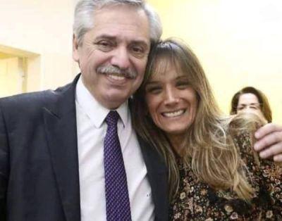Malena Galmarini recibió la visita de Alberto Fernández mientras se recupera de su operación