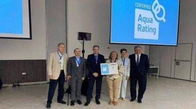 AySA obtuvo certificación internacional por su gestión