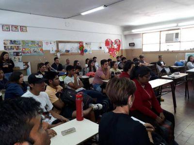 PROSAP capacitó a estudiantes de carreras agroindustriales