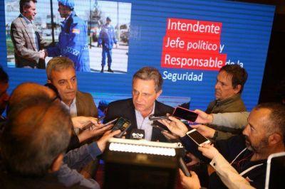 Pulti presentó el Plan de Seguridad Mar del Plata 2019/23